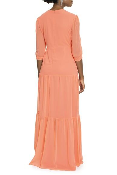 Vestido Aruana Orange Basic Collection