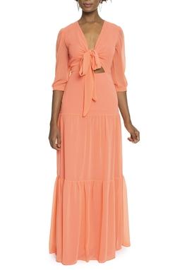 Vestido Aruana Orange DG-13604