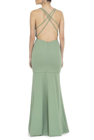 Vestido Astapor Green Basic Collection