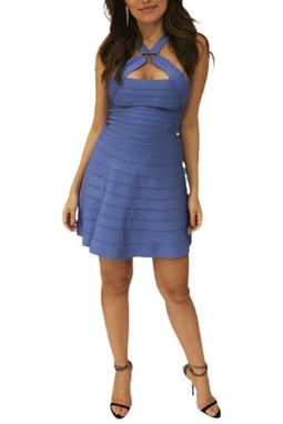 Vestido Azul - BMD 9366