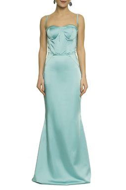 Vestido Azul Corselet - DG17625