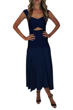 Vestido Azul Marinho - BMD 10176