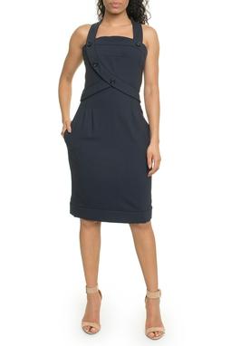 Vestido Azul Marinho - DG17947