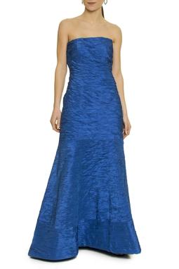 Vestido Azul Seda - DG17479