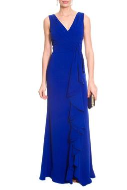 Vestido Babado Blue