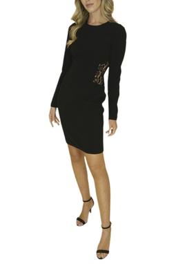 Vestido Básico com Renda - BMD 9572