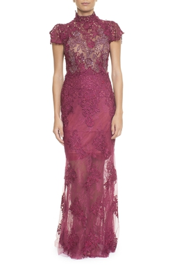 Vestido Belmonte Marsala - DG14678