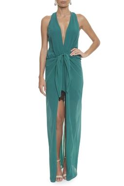 Vestido Bergen Green