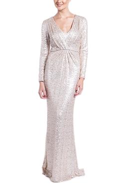 Vestido Natália Gold CLM - DG14635