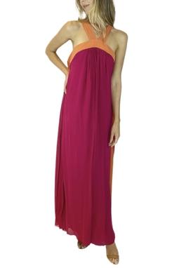 Vestido Bicolor - BMD 11443