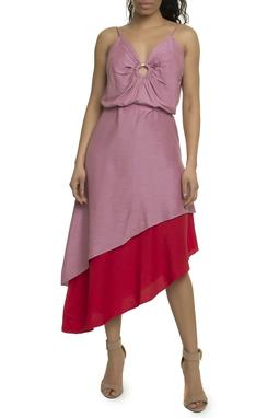 Vestido Blair Midi Saia Assimetrica - 11VT554