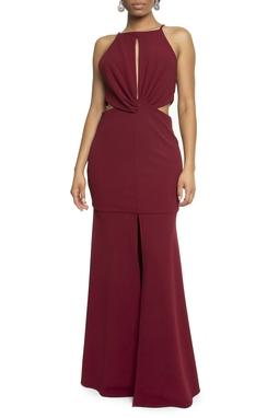 Vestido Bolton Marsala - DG14225