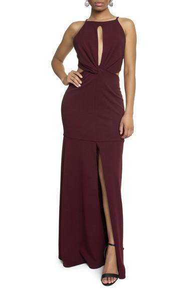 Vestido Bolton Purpura Basic Collection