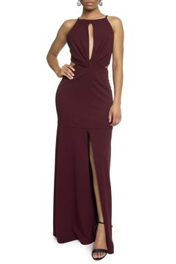 Vestido Bolton Purpura - DG14242