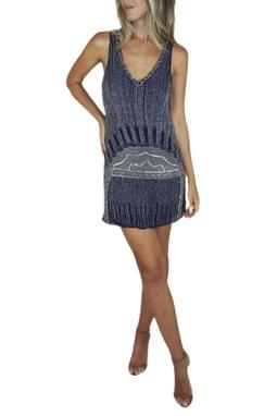 Vestido Bordado - BMD 9887