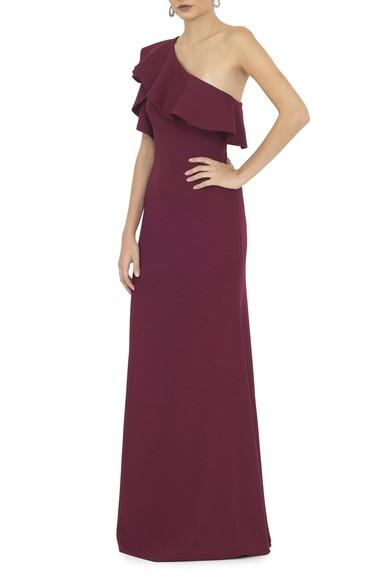 Vestido Bordeaux - DG13617 Basic Collection