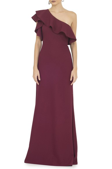 Vestido Bordeaux Basic Collection