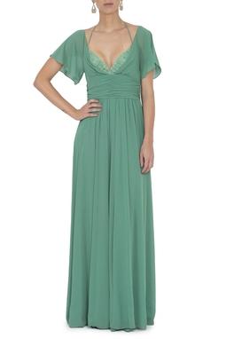 Vestido Byers Green