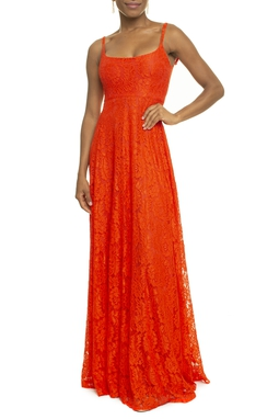 Vestido Caldeira Orange