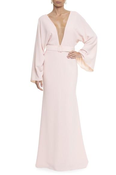 Vestido Calix Light Pink Marcelo Quadros