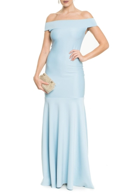 Vestido Cariri Light Blue