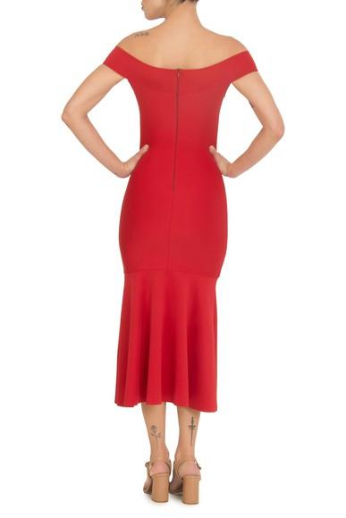 Vestido Cariri Red Midi Jodri