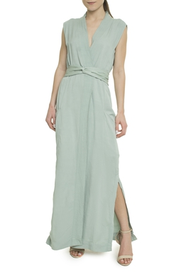 Vestido Chemise Sem Mangas - DG18103