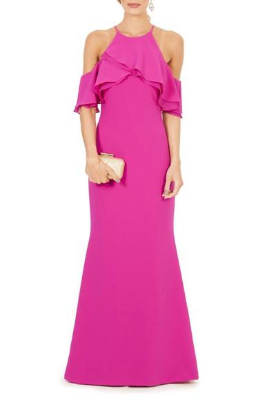 Vestido Cheryl Badgley Mischka