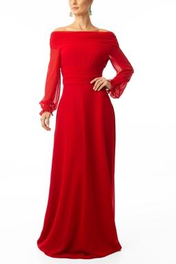 Vestido Cila Red