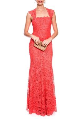 Vestido Cloe Coral - DG36/40/42