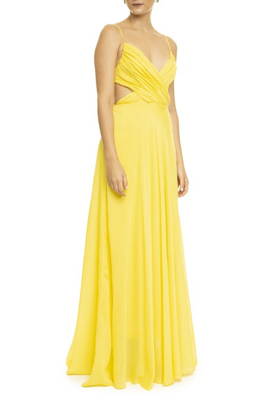 Vestido Clouds Yellow Basic Collection