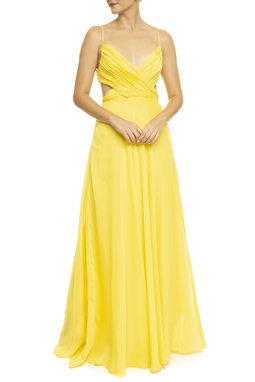 Vestido Clouds Yellow
