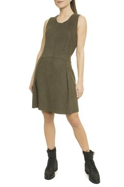 Vestido Com Recortes Pespontados - O16C2VT11