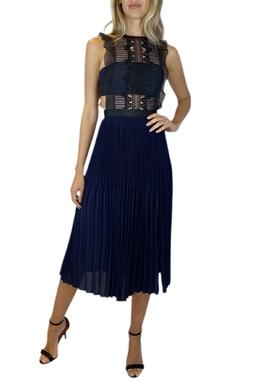 Vestido com Renda - BMD 11423