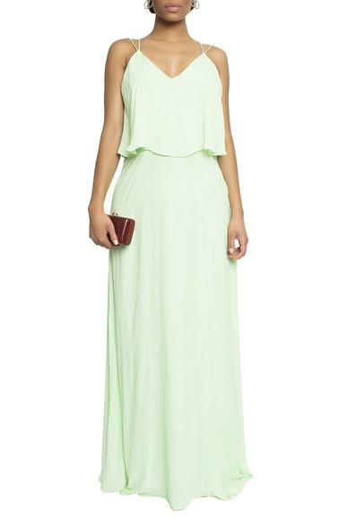 Vestido Cuevas Green Basic Collection