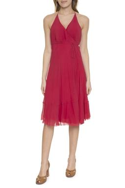 Vestido Curto Alça Fina Transpassado - DG16700
