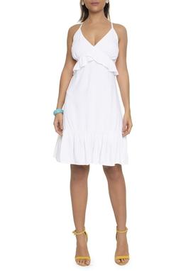 Vestido Curto Amarração Costas - DG16591