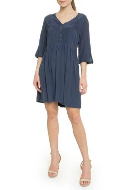 Vestido Curto Azul - DG18102