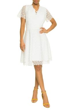 Vestido Curto Branco - DG17620