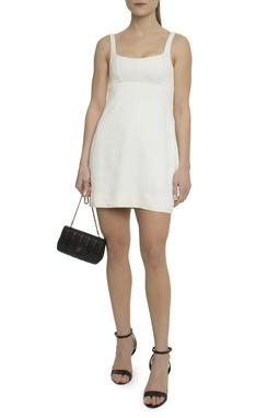 Vestido curto branco - DG17905