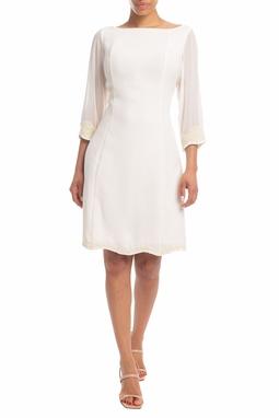 Vestido Curto Branco - DG18383