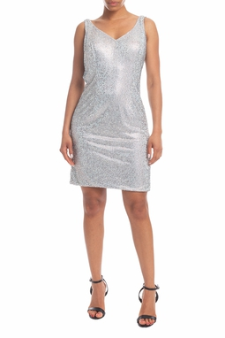 Vestido Curto Cinza - DG18386