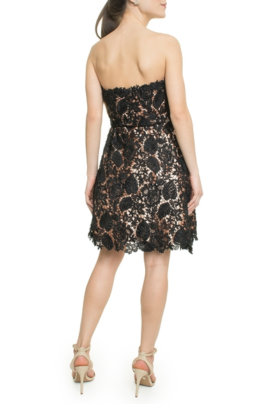 Vestido Curto Guipure - DG18100 Curadoria Dress & Go