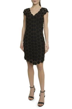 Vestido curto marrom - DG17912
