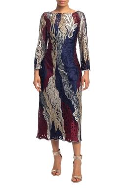 Vestido Curto ML Estampado HM - DG18798