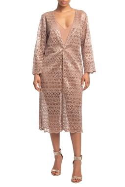 Vestido Curto ML Nude HM - DG18805