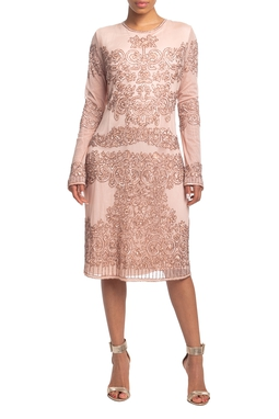 Vestido Curto ML Rosa HM - DG18786