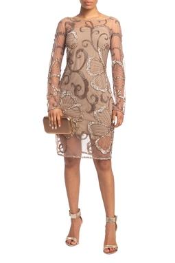 Vestido Curto ML Rosê HM - DG18815