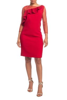 Vestido Curto ML Vermelho HM - DG18795