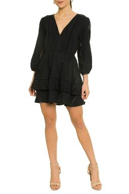 Vestido Curto Preto - DG17413